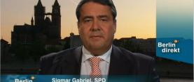Interview mit Gabriel endet im PR-Desaster