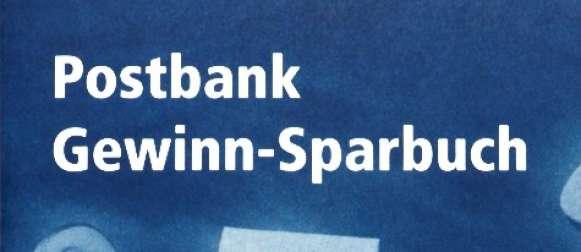 postbank sparen