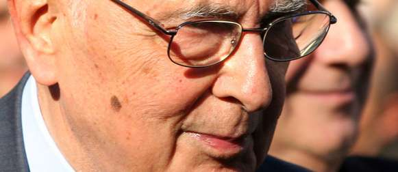 Italien hofft auf Napolitano