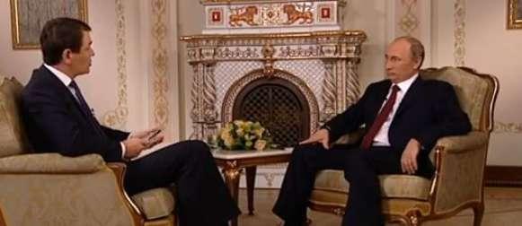 Wladimir Putin im ARD-Interview