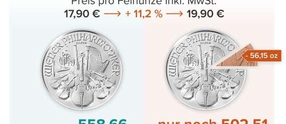 Silber – Differenzbesteuerung statt Mehrwertsteuererhöhung