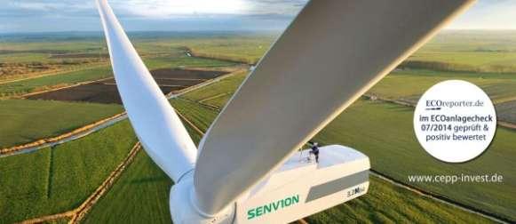 Direktbeteiligung der CEPP erfolgreich platziert – Windenergieanlage Kahnsdorf 1 vollständig gezeichnet