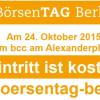 Börsentag Berlin: Großes Get-together der Finanzbranche