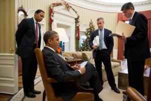 Offizielles White House Foto. Pete Souza.