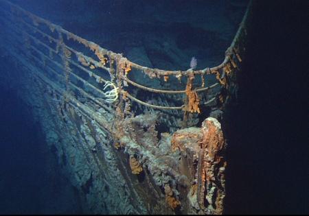 "Artikelbildabbildung: ""Das nukleare Geheimnis der Titanic"" (© National Oceanic and Atmospheric Administration)."